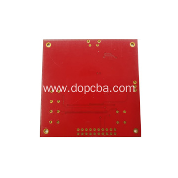 Red Solder Mask Single Sided ENIG PCB Board