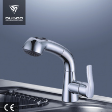 Best Quality for Chrome Finished Kitchen Faucet Pull-Down Spray Single Handle Taps supply to South Korea Factories