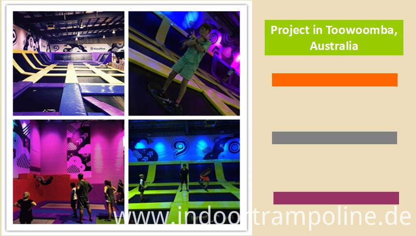 Projects of jumping trampoline park