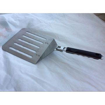 Middle frying pizza spatula with flexible handle