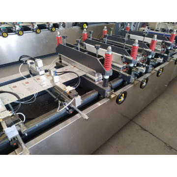 Three side pouch making machinery