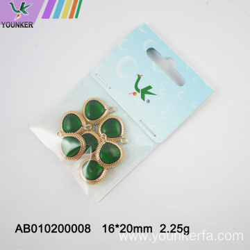 Fashion Charm Glass Pendant For Jewelry Making