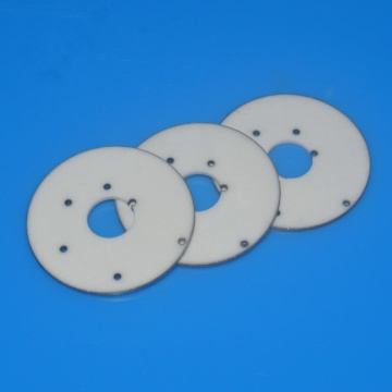 High precision alumina ceramic metallized spacer