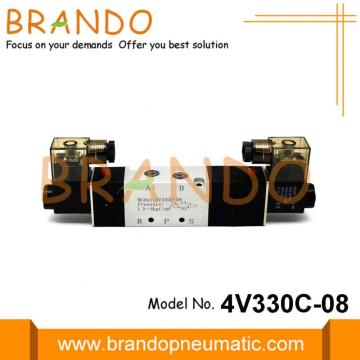 4V 300Series 1/4'' Inch Pneumatic Electromagnetic Valve