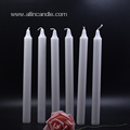 Scented and Unscented White Votive Church Candles