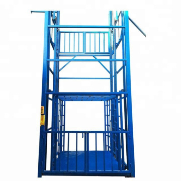 Hydraulic Guide Rail Chain Lift Platform