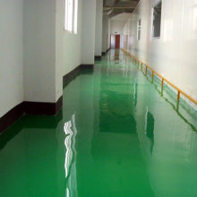 Solvent-free epoxy self-leveling varnish