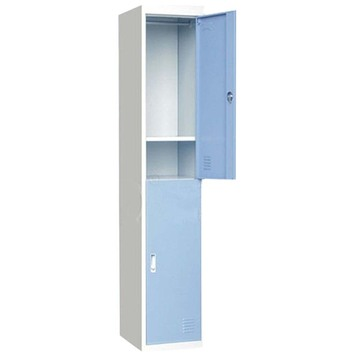Worker staff use 2 door steel locker
