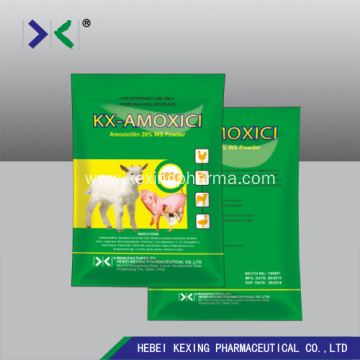Amoxicillin Water Soluble Powder