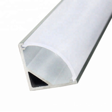 Good Quality for White Aluminum Extrusion LED light strip Industrial Triangle Aluminum Profile supply to Belarus Factories