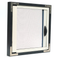 Retractable Screen window with aluminum frame 0963