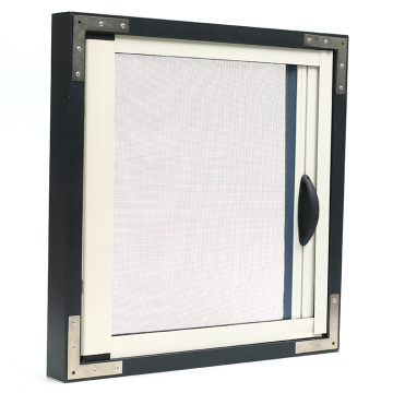 Retractable window with aluminum frame 0964