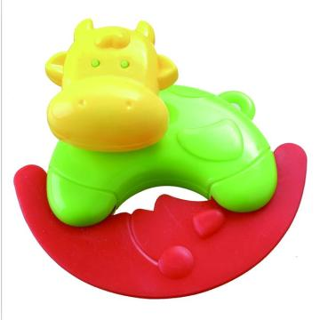 Baby Musical Ring Toy Cow Shape Rattle