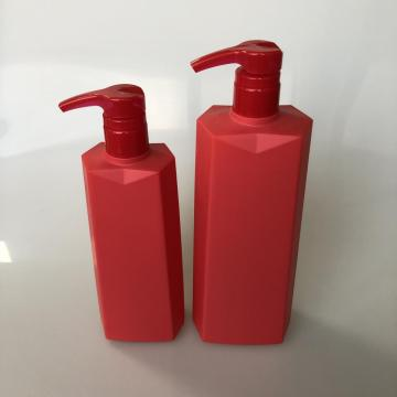 750ml HDPE bottle with skirt shape