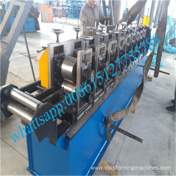 Wall cladding roll forming machine