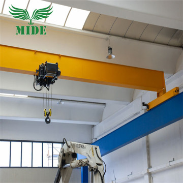 Euro Type Electric Hoist Single Girder Overhead Crane