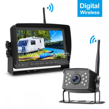 Wireless Digital Monitor 7inch Wireless Backup Camera Kit