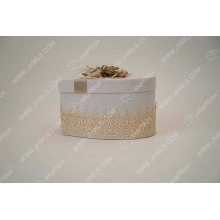 Good Quality for Powder Box Handmade Cosmetic Gift Box Made of Linen export to Reunion Supplier