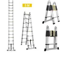 4.4M Portable Aluminum Telescopic Ladder