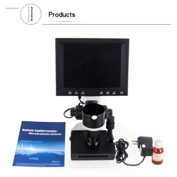 CE microcirculation microscope machine 8 inch
