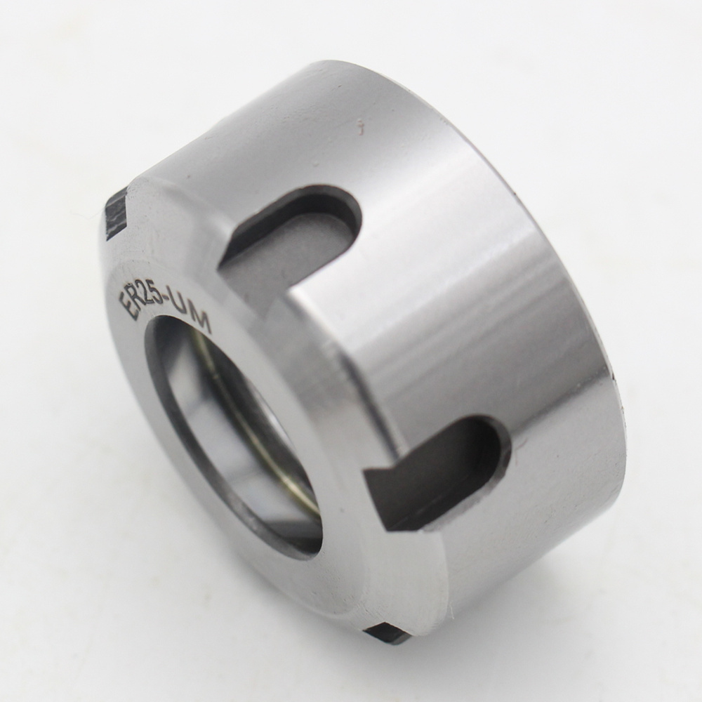 High Quality ER 25UM NUTS Silver