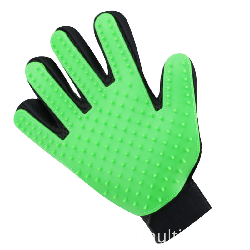 Deshedding Brush Glove For Animal Cat Supplies Pet Gloves Hair Comb Five Finger Glove For Cat 5