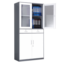 With Two Drawer Metal Office Cupboard