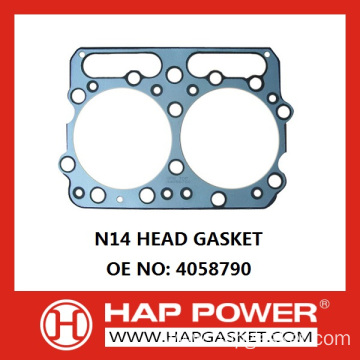 OEM/ODM Manufacturer for Cummins Sealing Gaskts N14 HEAD GASKET 4058790 supply to Cameroon Supplier