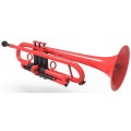 Precision piccolo Plastic Trumpet with free hard