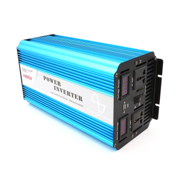 1500W 12V/24VDC to 110V/220VAC Pure Sine Wave Inverter