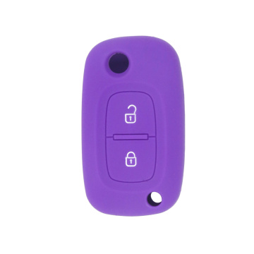 Renault silicone car key cover 3 buttons