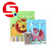 Factory Promotional for Cheap Paper Shopping Bags Coloured paper bags with handles export to South Korea Supplier