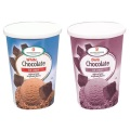 Wholesale paper ice cream cup with lid