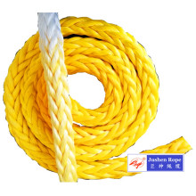 Customized for China UHMWPE Braided Rope,UHMWPE Rope,UHMWPE Mooring Rope Manufacturer and Supplier High Strength 12 Strand Braided UHMWPE Mooring Rope supply to Thailand Importers