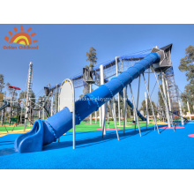 Straight Tube Slide  Playground For Kids