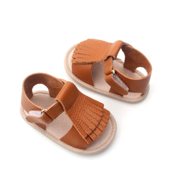 Quality Moccasins Baby Leather Boy and Girl Sandals