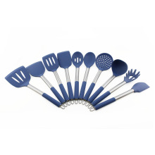 10pcs Silicone Cooking Utensils Kitchenware set