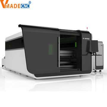 4000w Fiber Laser Cutting Machine with Protective Cover