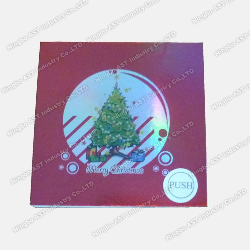 Postcards for Christmas Day, Music Post Cards