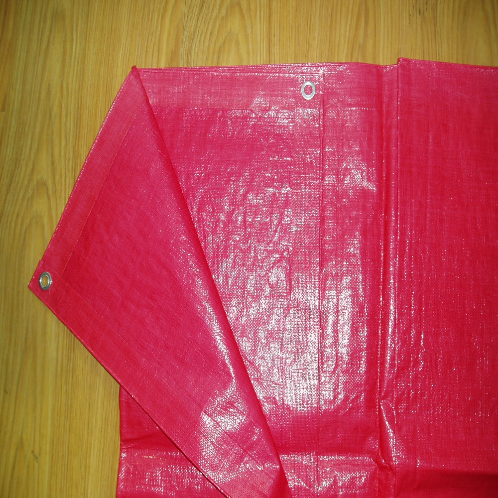 Red Poly Tarps