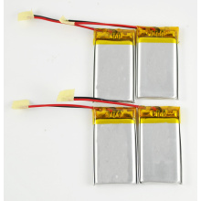 lithium polymer rechargeable 501554 3.7v 400mah lipo battery