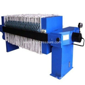 High Capacity Plate Frame Filter Press Machine