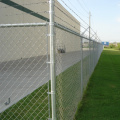 HIgh security stadiums chain link fence