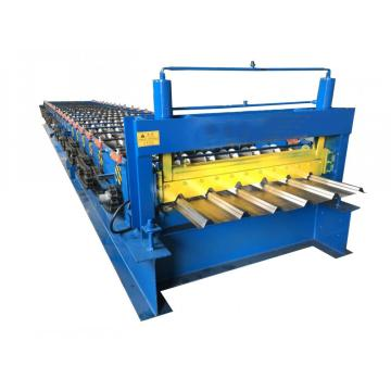 Color Steel Roofing Making Trapezidal Roof Machine