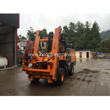 Factory directly sale for Guardrail Driver Extracting Machine Tractor Mounted Highway Pile Driver export to Tunisia Exporter