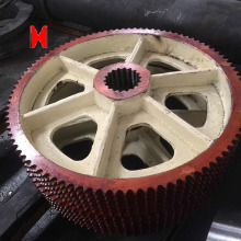 Customized sprocket gear of oil pranting
