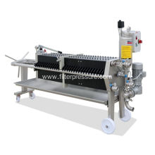 Stainless Steel Cover Filter Press for Pharmacy Industry