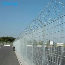 Welded wire mesh airport fencing standards