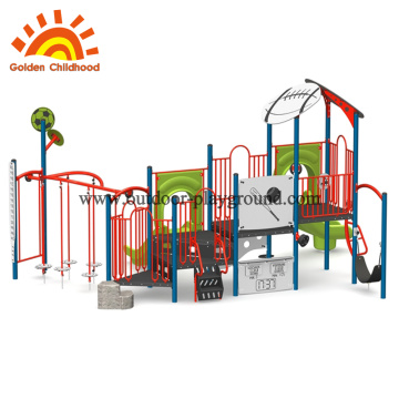 Colourful roof Insect Style outdoor playground