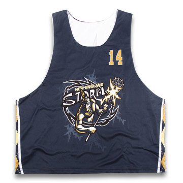 Customized for Long Sleeve Lacrosse Jersey cheap customized dye sublimation lacrosse jersey supply to Benin Factories